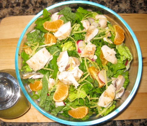 Two Salads in One - Chicken