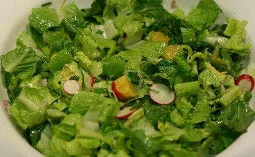 Simple Citrus Side Salad with Radish and Avocado