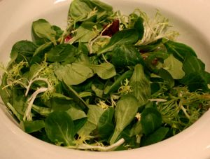 Greens for Triple Citrus Side Salad