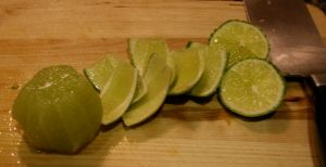 Triple Citrus Side Salad, Lime